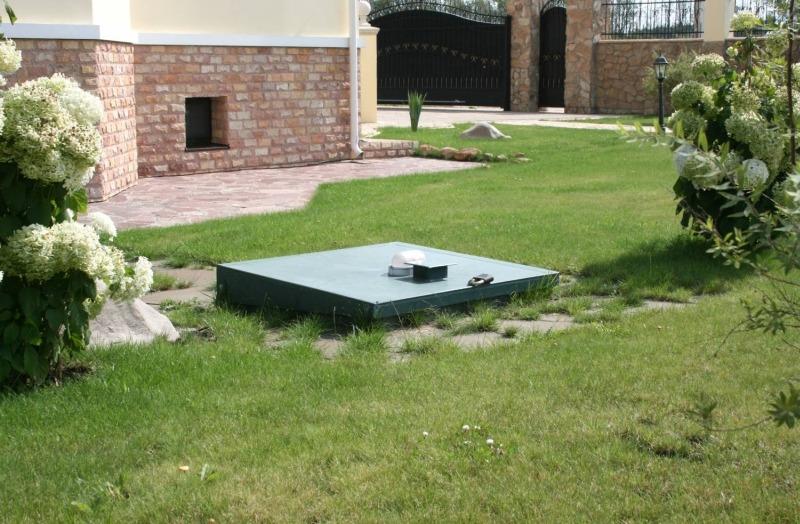 Очистные сооружения канализационной системы частного дома