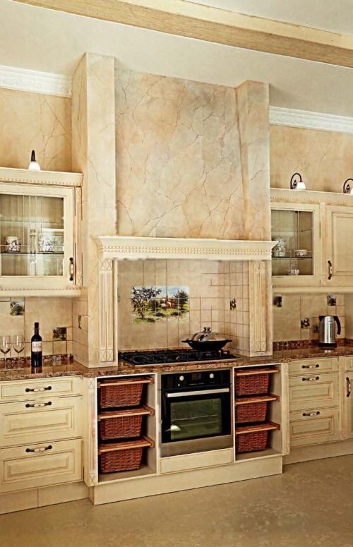 Стиль и архитектура современного загородного дома - кухня