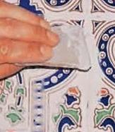 Укладка изразцовой плитки для печи