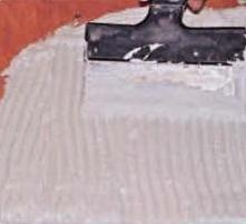 Укладка плитки под печь-камин