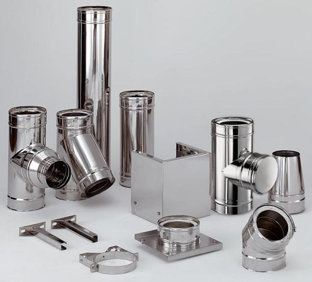 Дымоход Schiedel ICS снаружи сталь, внутри сталь
