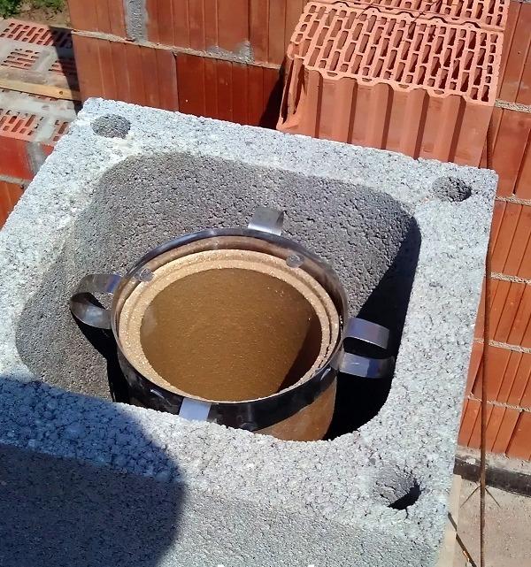 Дымоход из керамики Schiedel Quadro
