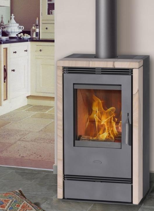 Fireplace Calvia печь-камин длительного горения