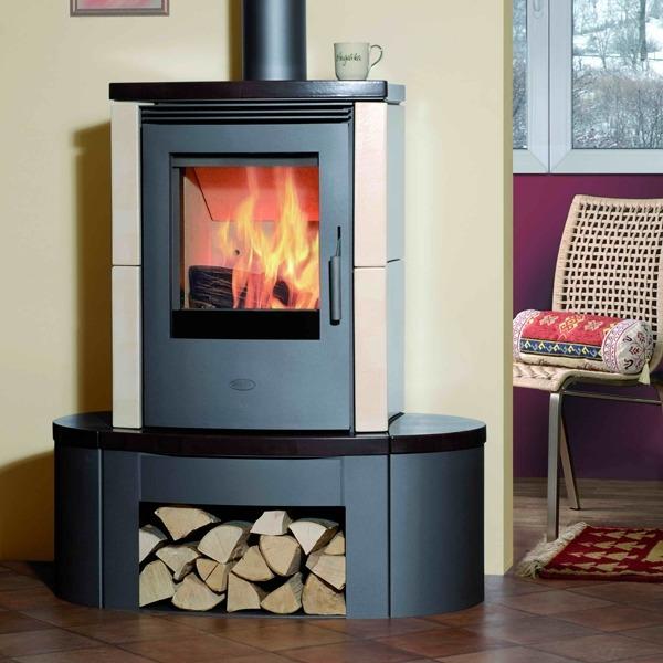 Fireplace Melange печь-камин длительного горения