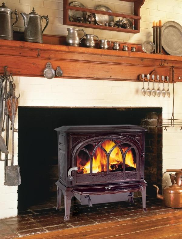 JOTUL F 8 дровяная отопительная чугунная печь