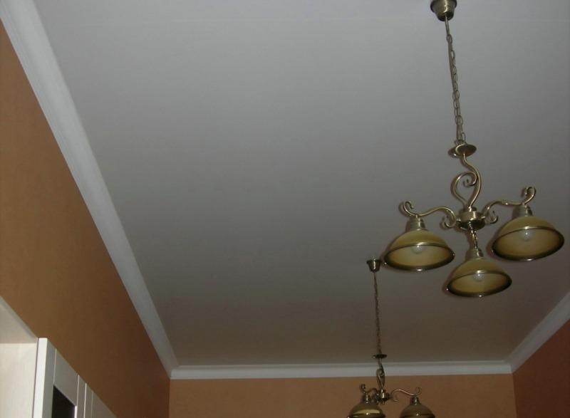 Матовый натяжной потолок. L'ETE