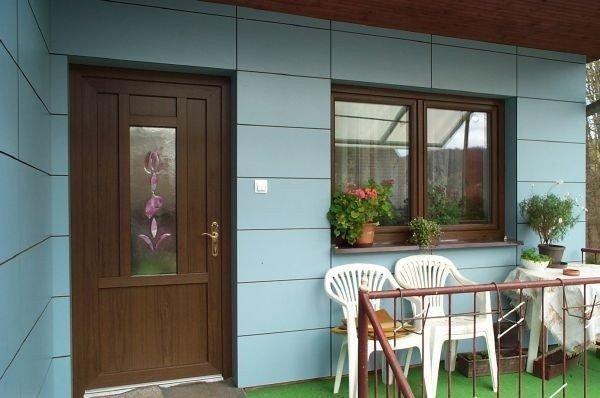 Навесной вентилируемый фасад на частном загородном доме