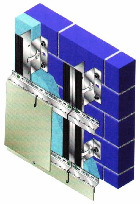 Особенности конструкций навесных вентилируемых фасадов