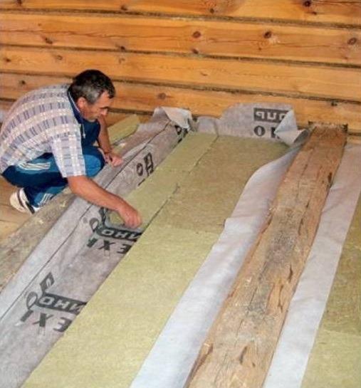 Подготовка основания и укладка деревянного пола