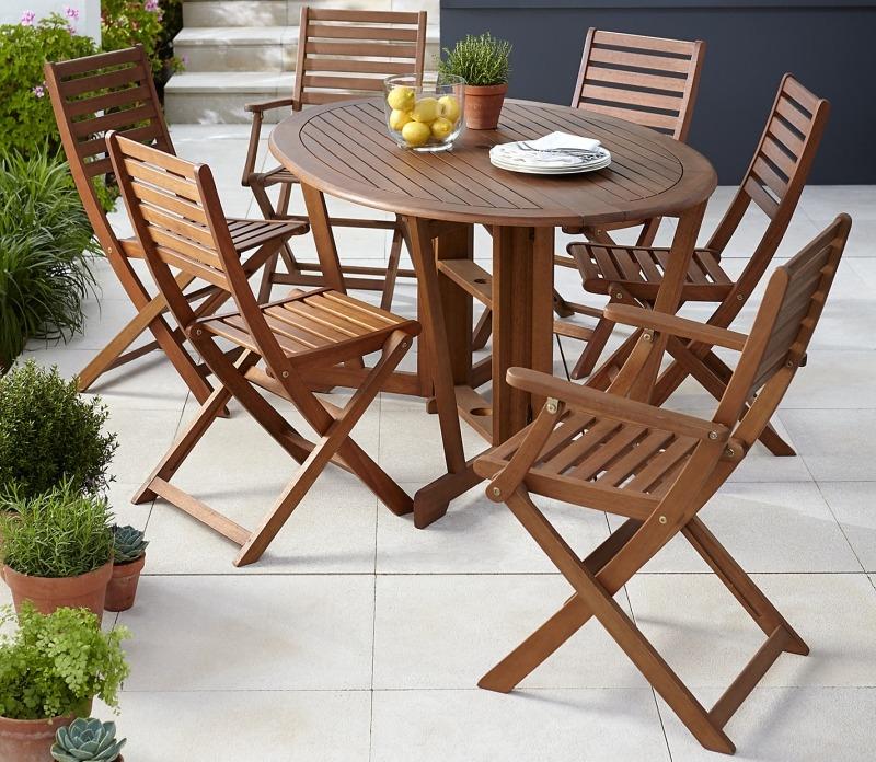 Комплект деревянной садовой мебели от John Lewis