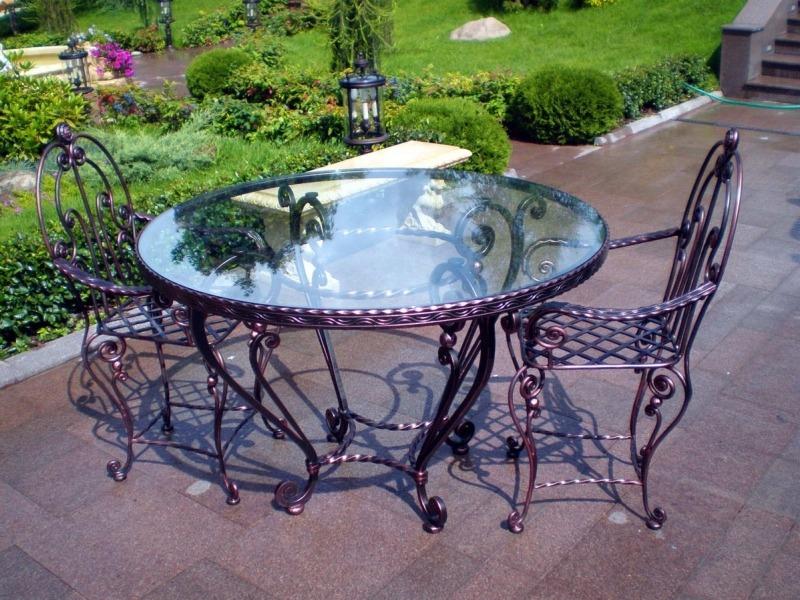 Комплект кованой садовой мебели от Defendoor