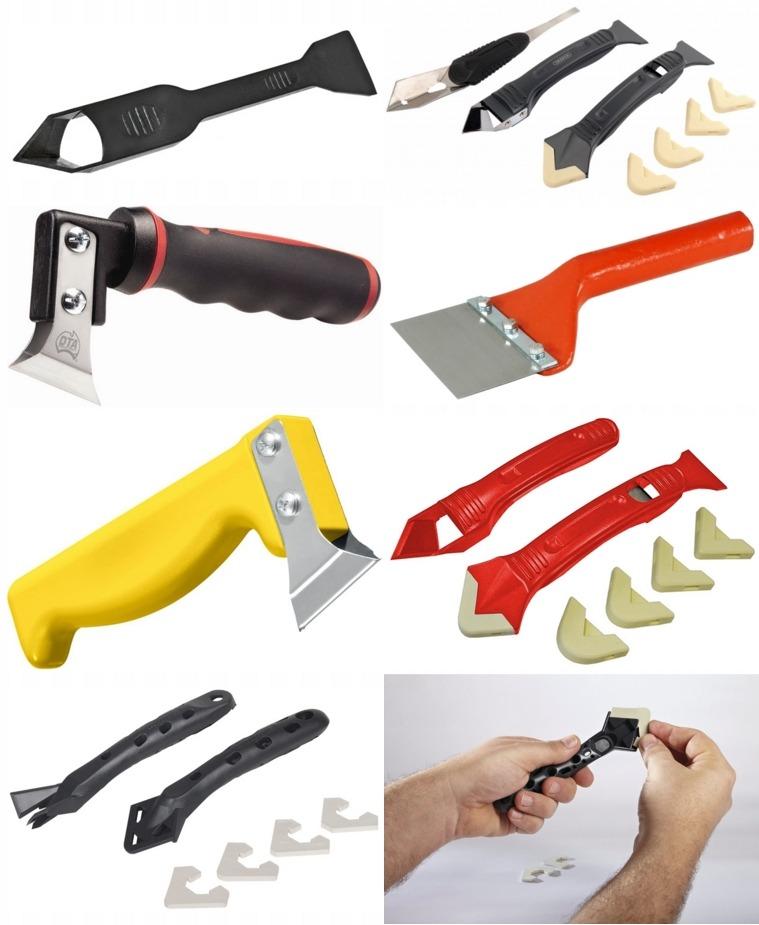 Ножи и скребки для удаления герметика