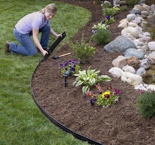 Бордюрная лента для кромки газона