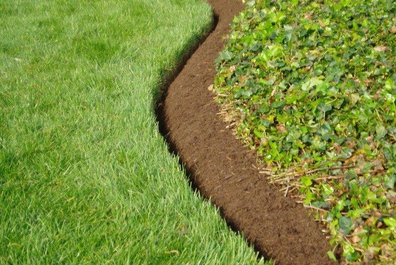 Садовый бордюр и бордюрная лента. Оформляем границы газона