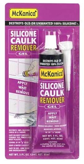 Средство для удаления силиконового герметика McKanica Silicone Caulk Remover Gel