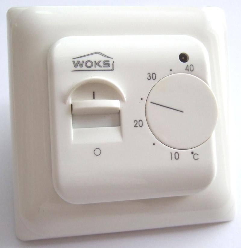 Механический терморегулятор электрического теплого пола