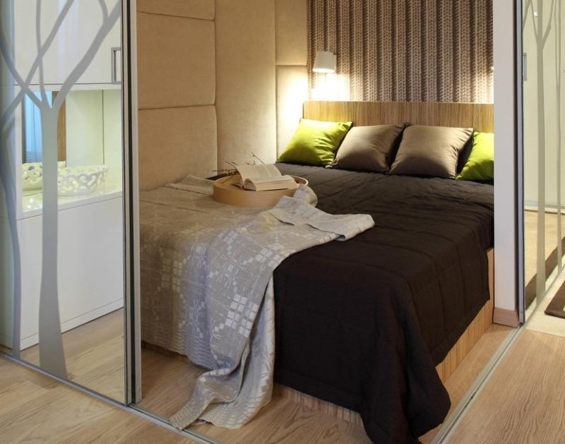 Обустраиваем спальню в квартире-студии