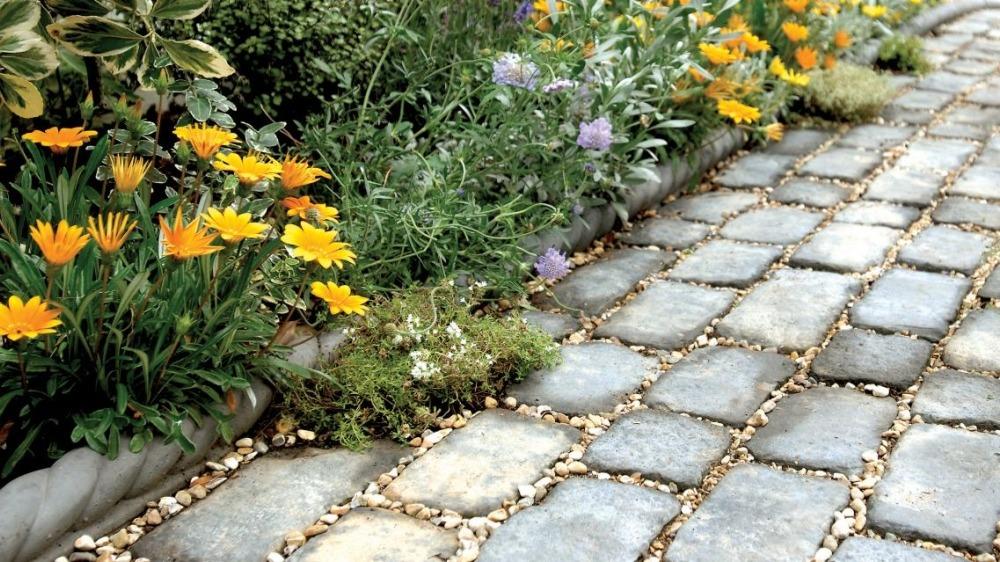 Садовые дорожки и площадки в ландшафтном дизайне