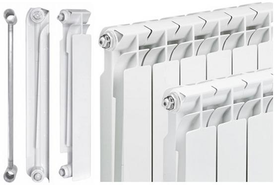 Биметаллический радиатор отопления компании Tenrad