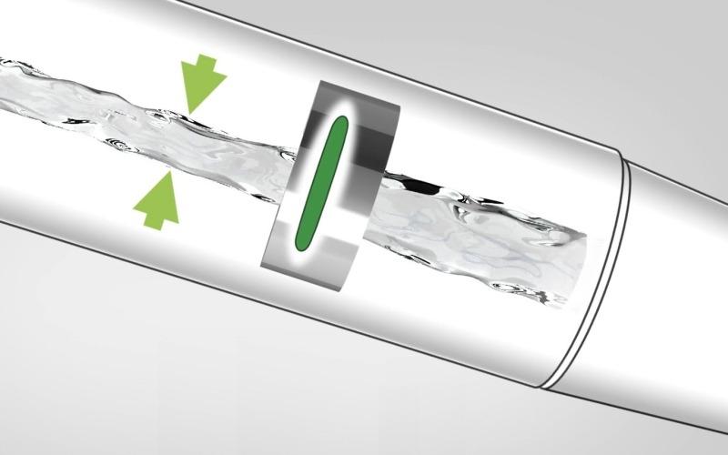 Технология Hansgrohe EcoSmart для душа