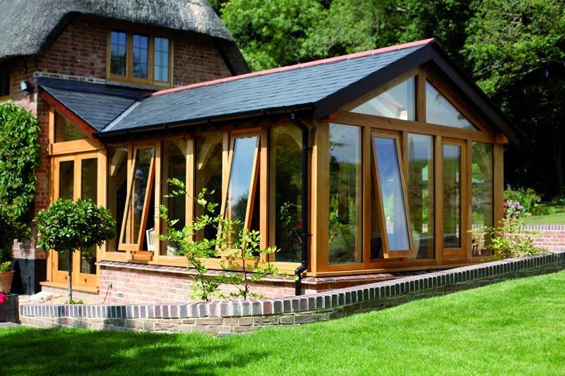 Зимний сад пристроенный к дому