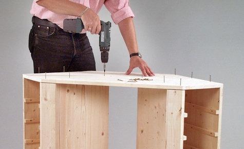 Делаем раскладной буфет — стол