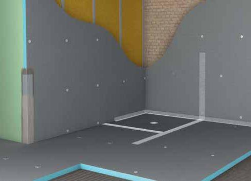 Строительные панели Wedi