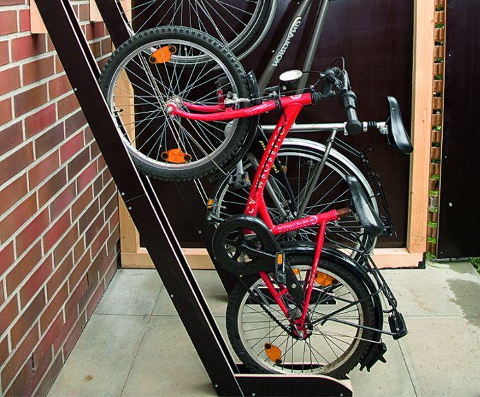 Делаем стойку для велосипедов
