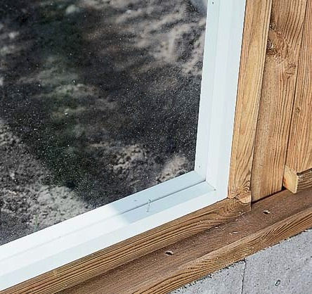 Строим деревянную теплицу своими руками