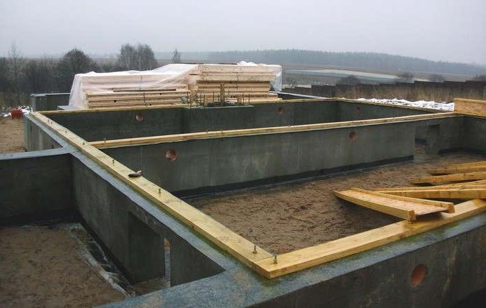 Строительство каркаса дома