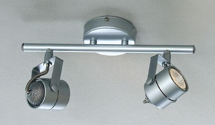 Функциональные споты на кронштейнах с галогеновыми лампами