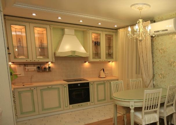 Светильники - споты на кухне