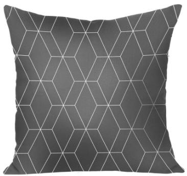 Подушка Гали (серо-белый)