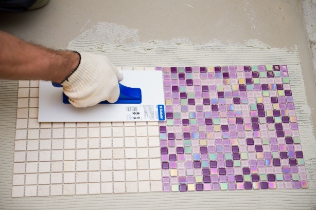 Облицовка ванной комнаты мозаикой