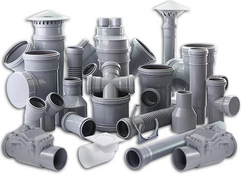 Пластиковые фитинги канализационных труб