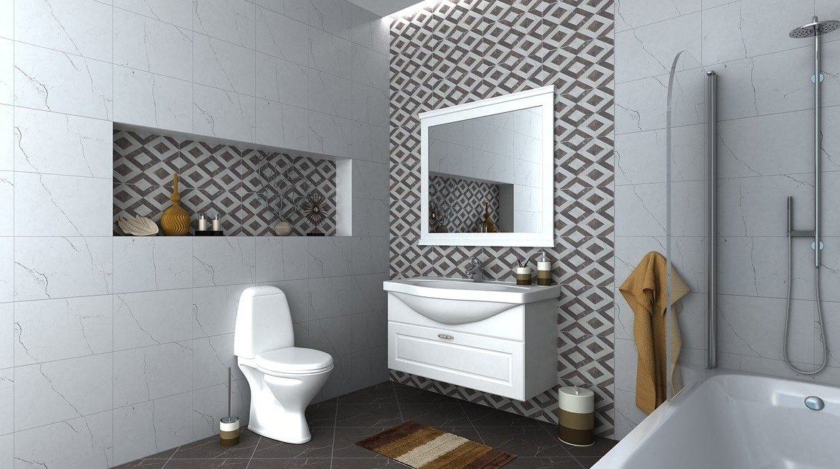 Дизайнерские решения для ванных комнат - «Классика»