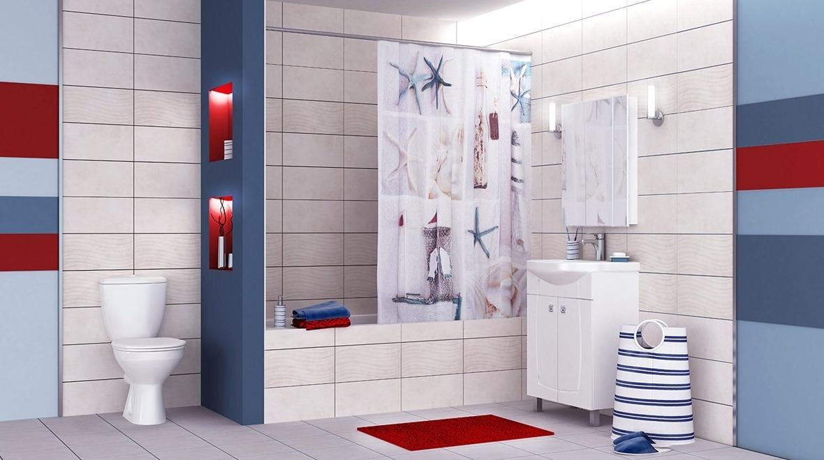 Дизайнерские решения для ванных комнат - «Море»