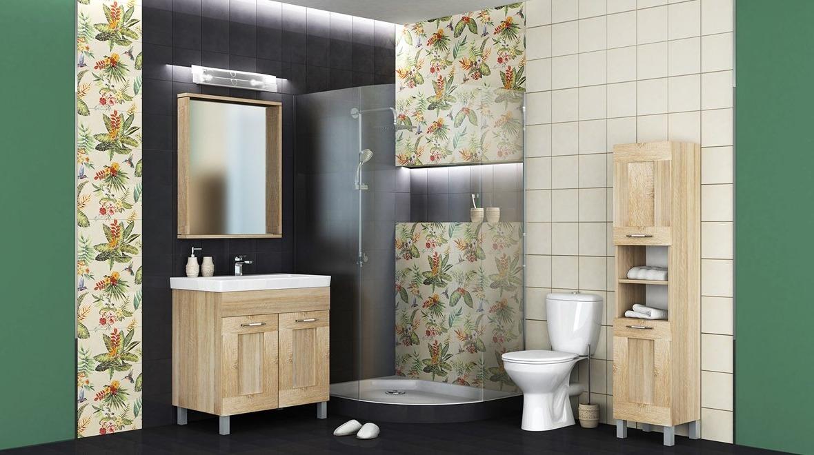 Дизайнерские решения для ванных комнат - «Тропики»