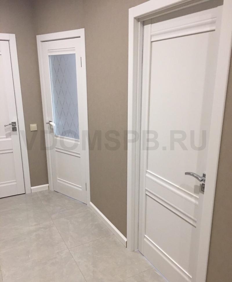 Двери с отделкой из пленки ПВХ