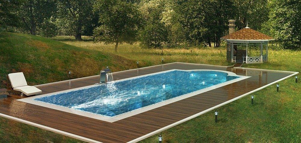 3D визуализация бассейна