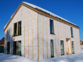 Дом из SIP-панелей