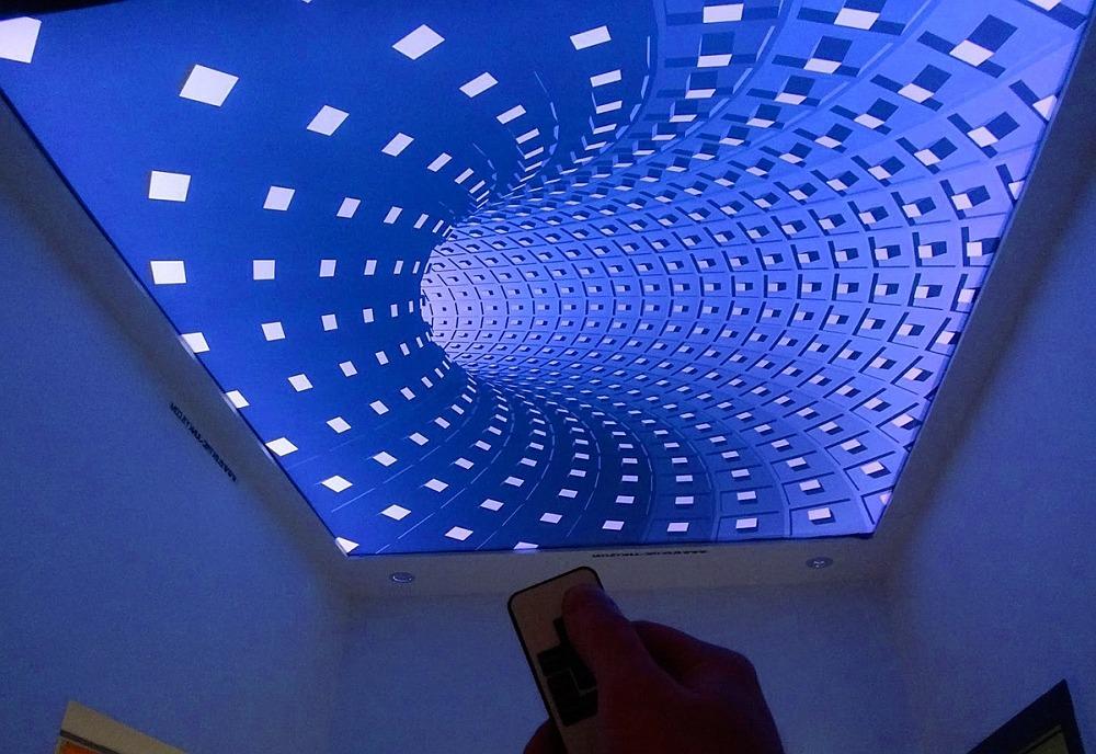 Натяжные потолки с 3D-эффектом