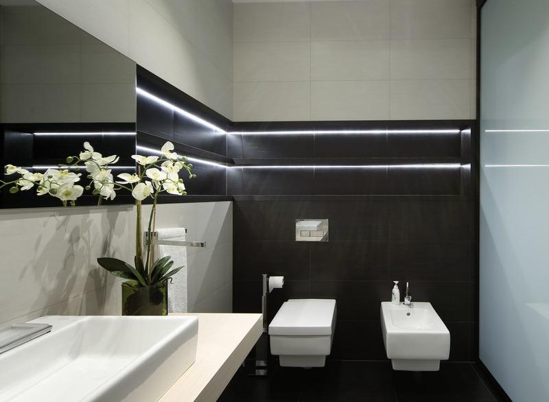 Интерьер 2019 ванной комнаты