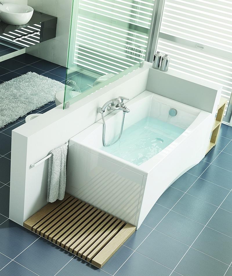 Акриловая ванна Cersanit Virgo