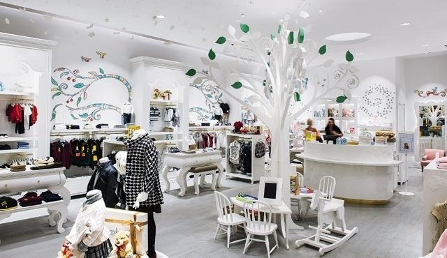 Освещение торговых залов и магазинов
