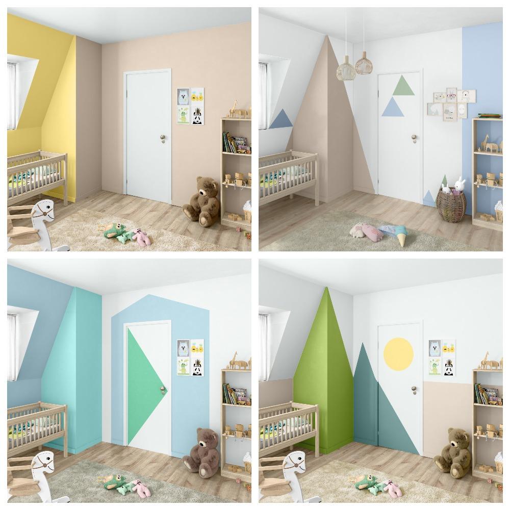 Краски для детской комнаты