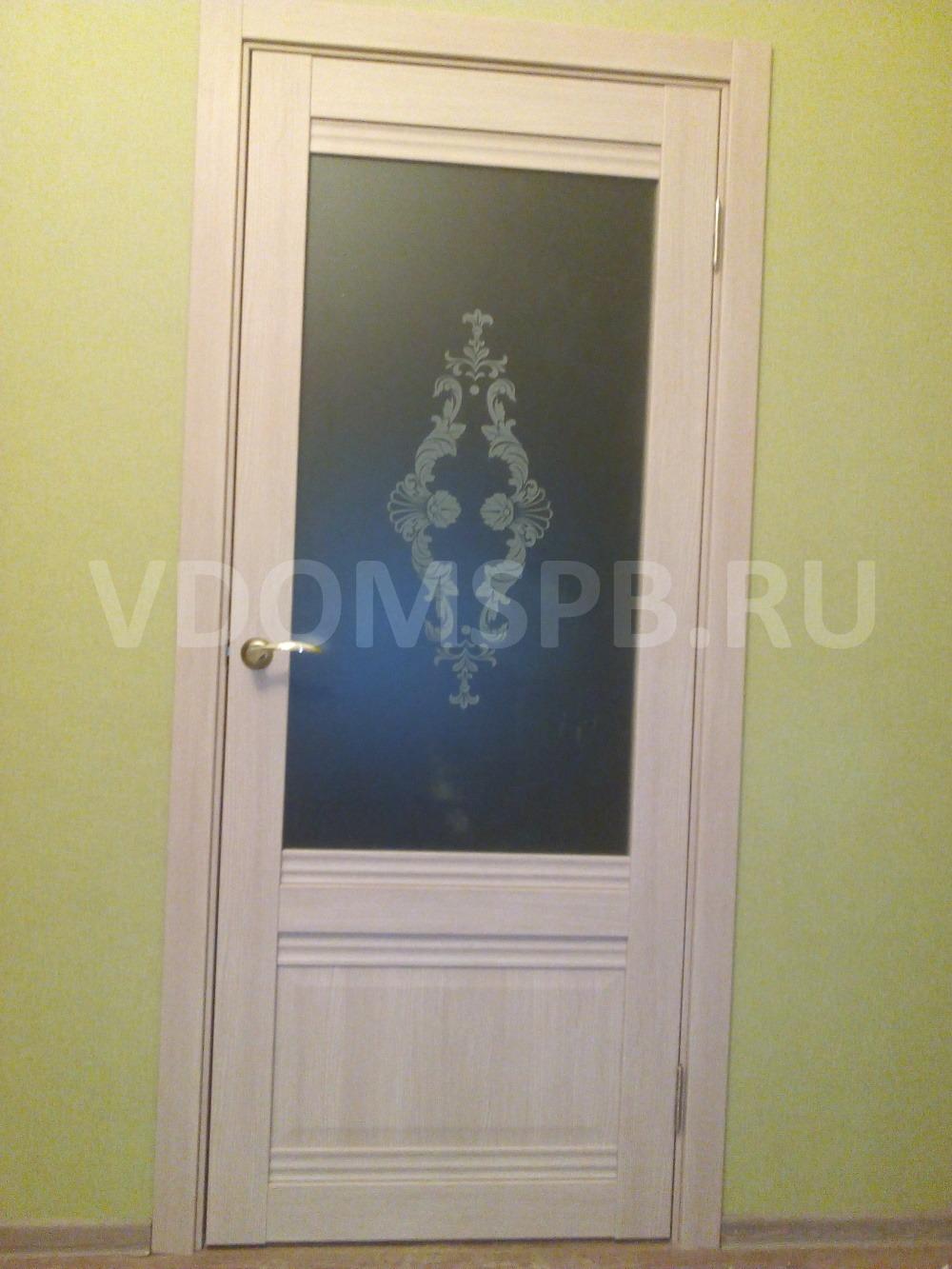Царговая дверь в классическом дизайне