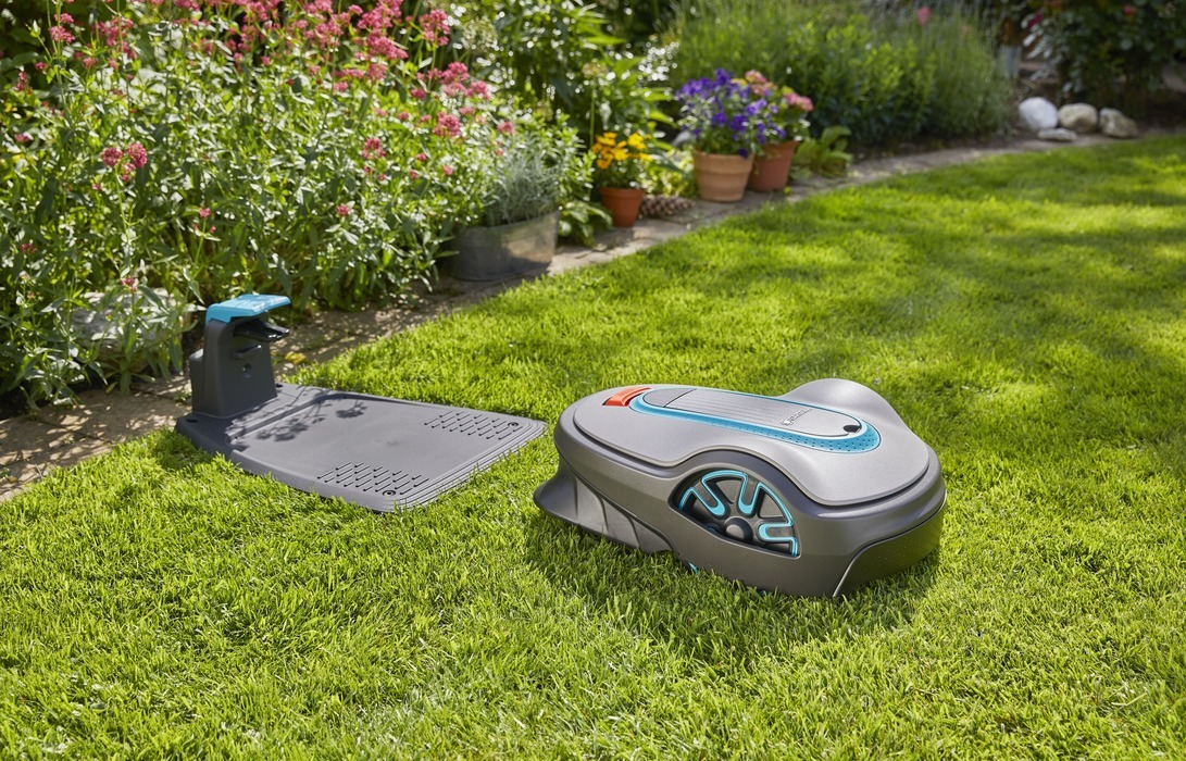 Робот-газонокосилка SILENO Gardena