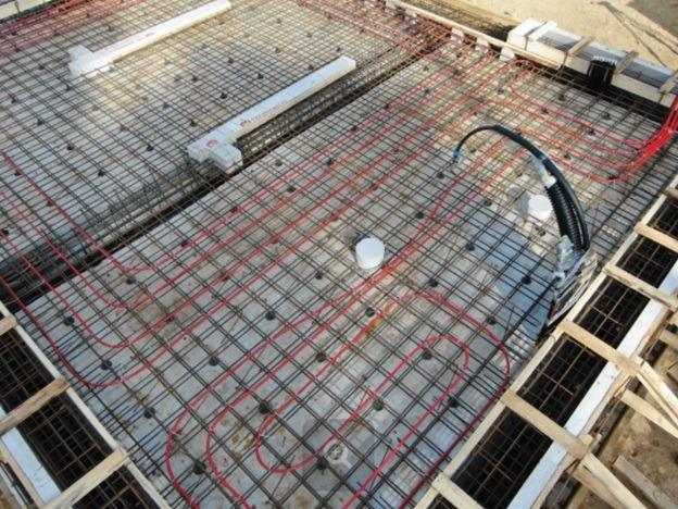 Фундамент - утепленная шведская плита