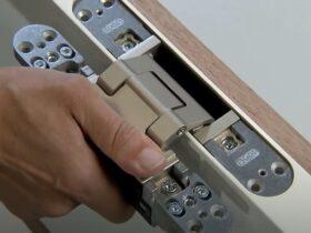 Скрытая петля Simonswerk для межкомнатной двери